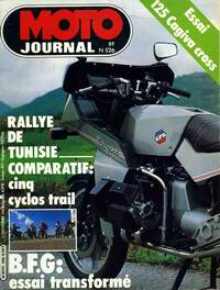 MOTO JOURNAL 526 du 15/10/1981