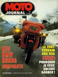 MOTO JOURNAL 548 du 18/03/1981