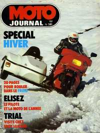 MOTO JOURNAL 581 du 02/12/1982