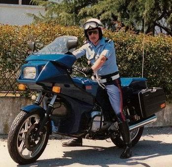 Moto BFG 1986 en service